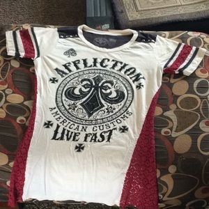 Affliction small shirt